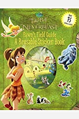 Disney Fairies: Tinker Bell and the Legend of the NeverBeast: Fawn's Field Guide: A Reusable Sticker Book (Disney Fairies Legend of the Neverbeast) Paperback