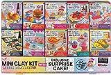 Fashion Angels 100% Extra Small Mini Clay Kit Super Set, Air Dry Clay/ Tiny Food Clay Kit