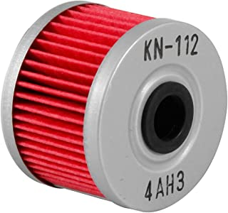 K&N Motorcycle Oil Filter: Premium High Performance Oil Filter designed to be used with synthetic or conventional oils fits Honda CBR300R CRF250 XR XL Kawasaki KLX KN-112