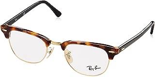 RX5154 Clubmaster Square Eyeglass Frames