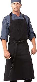 سرآشپزها پیش بند آشپزهای Unisex Rockford ، پیش بند ، خاکستری استیل ، 0