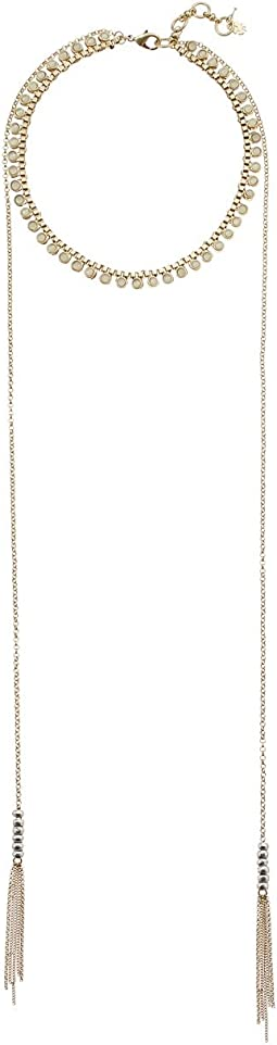 Lucky Brand - Chain Choker with Long Chain Necklace