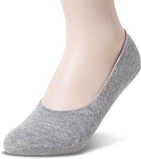 Calcetines invisibles para mujer, antideslizantes, corte bajo
