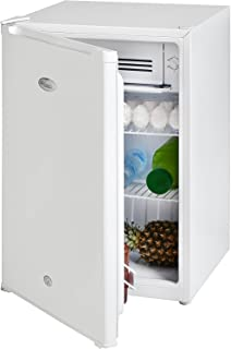Super General 90 Liter Gross Volume Compact Mini-Refrigerator SGR045H, White, Beverage-Fridge with Child Lock, Shelf, Free...