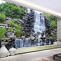xueshao壁画壁紙水が流れる滝自然風景壁画アート壁画壁紙リビングルーム寝室の装飾