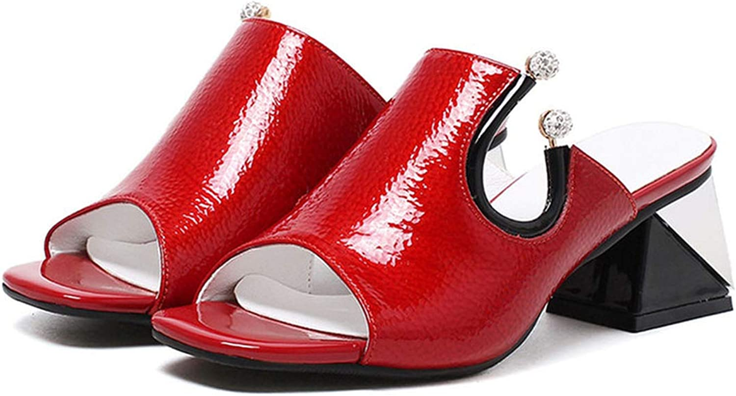 Longbao Sandals for Women Genuine Leather High Wedding Party shoes