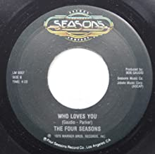 The Four Seasons 45 RPM Who Loves You / December '63 (Oh, What A Night)