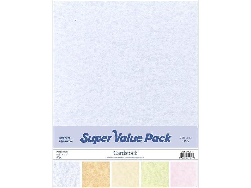 Accent Design Paper Accents 35pc SVP 8.5x11 Parchment