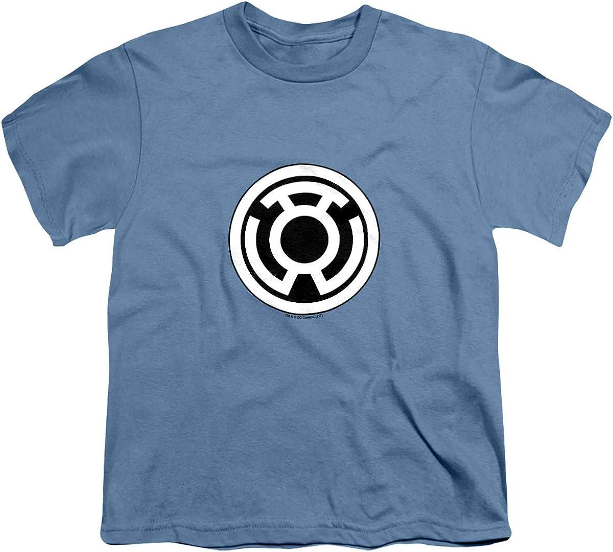 Green Lantern Sinestro Corps Logo Unisex Youth T Shirt, Carolina Blue, Large