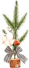 TOYANDONA Christmas Decorative Miniature Tree Decor Christmas Party Favor Mini Tree Bonsai Desktop Ornament Random Style