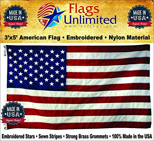 3x5 USA United States 48 Stars Flag 3/'x5/' Banner Brass Grommets 48 Star USA
