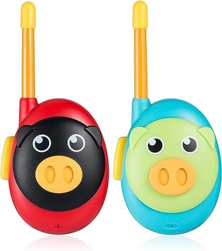 Jaybest Talkies Walkies pour Enfants, Portable Walkies Talkies pour avec Radio bidirectionnelle de Long, Cadeaux pour...