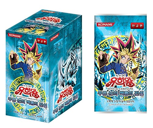 "Yugioh Cards ""BLUE EYES WHITE DRAGON"" Booster BOX / Korean Ver / 40 Booster Pack"