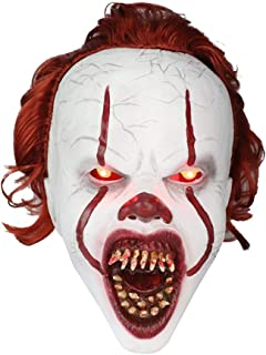 cobud Halloween Mask Horror Scary Mask Cosplay Face Dance Mask Fun Video Shooting Special Props Stage Performance for Festival Parade Grass Dance Halloween Christmas Party Frugal Applied