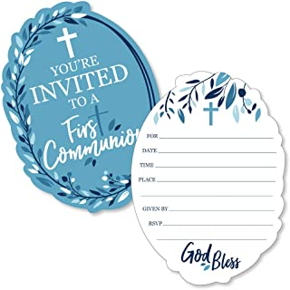 Custom Communion Crucifixion Silver And Blue Striped Party Backgrounds Computer Print Party Backdrop Photo Studio Background