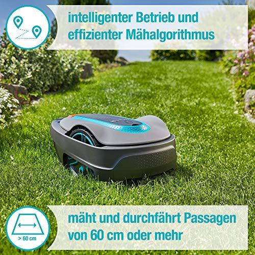 GARDENA smart SILENO city Set 300: Mähroboter bis 300 m² Rasenfläche steuerbar per App - 3