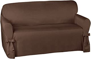 Collections Etc Garden Retreat Slipcover by Kathy Ireland, Brown, Loveseat