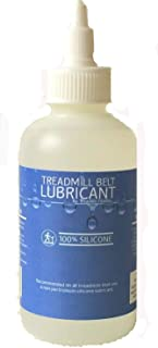 100% Silicone Treadmill Belt Lube 4oz- Same Stuff - Lower Price - Best Value! (Easy to Apply, Instructions on Bottle)