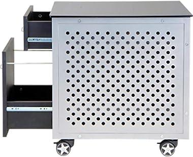 PitStop Furniture Carbon Fiber File Cabinet