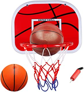 comprar comparacion WoBoSen Dentro de Mini Aro de Baloncesto en la Sala de Oficina Mini Baloncesto Junta Niños Deportes de Ocio con Balón y Bo...