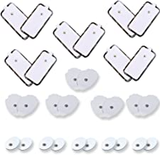 Replacement Tens Unit Pads All Sizes 5 Pairs of Each Sizes Electrode Self Adhesive Replacement Electodes Large Medium Small