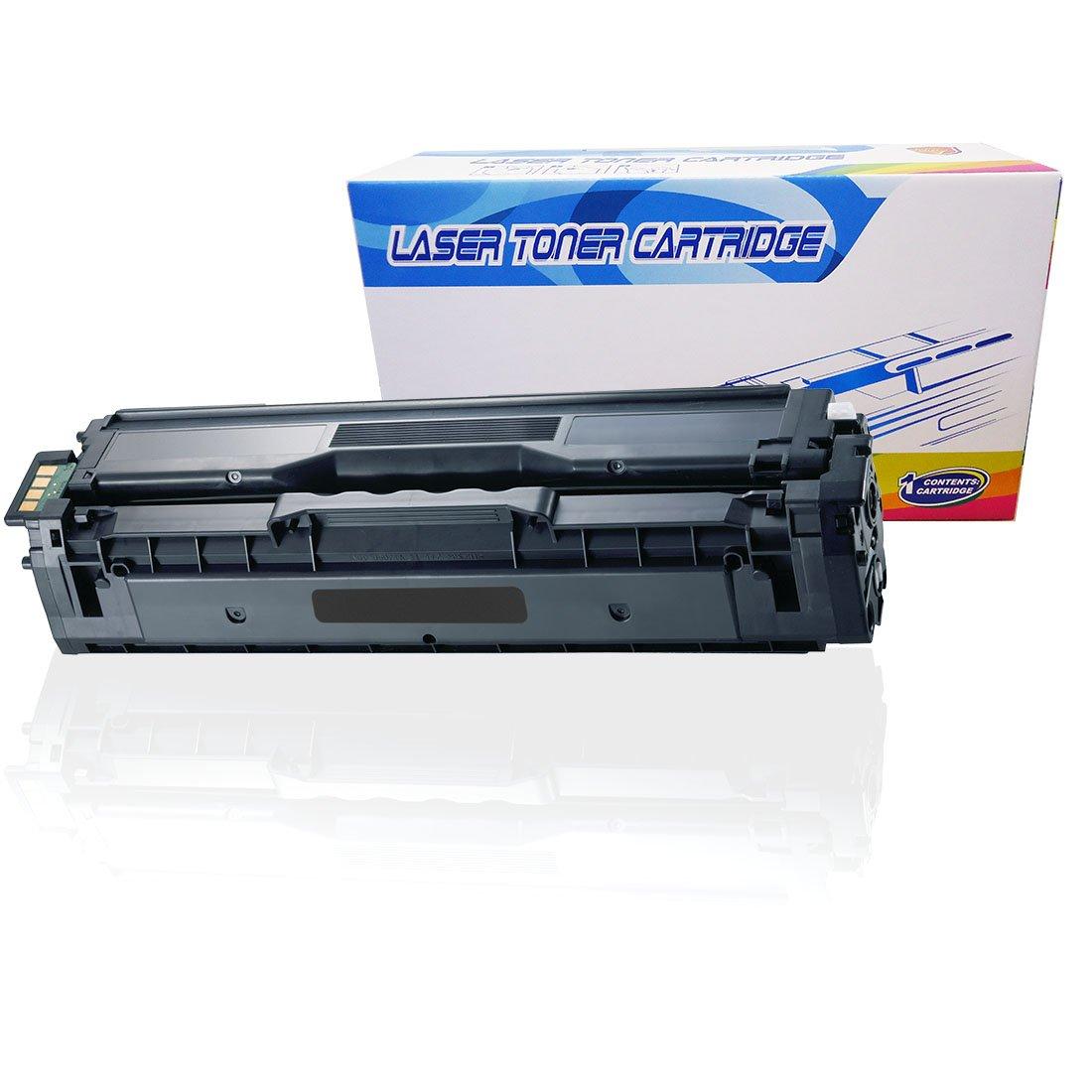 Inktoneram Compatible Toner Cartridge Replacement for Samsung 504S CLP415 CLP-415 CLT-K504S K504S CLP-415N CLP-415NW CLX-4195FW CLX-4195FN CLX-4195N SL-C1810W SL-C1860FW (Black)