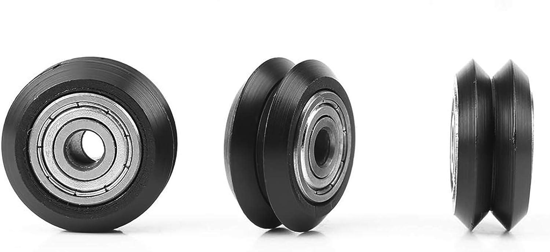 20Pcs 5mm Bore 625 Bearing Pulley V Bearing V Wheels Bearing Whe