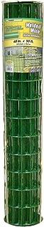 YARDGARD 308358A Green Vinyl Coated Welded Wire Fence, 14-Gauge, 48