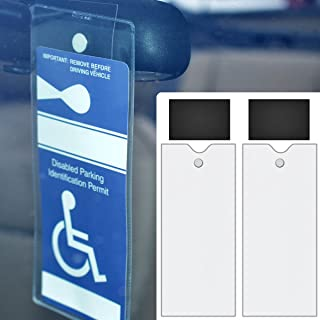 StoreSMART - Magnetic Holders for Parking Placards - 2-PACK - MMP2