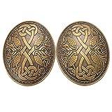 GRACEART Viking Broche Mdivale (1 paire)