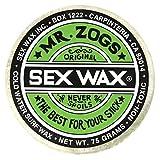 Mr. Zogs Original Sexwax - Cold Water Temperature Coconut Scented (White)