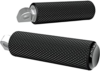 Arlen Ness Footpegs Knurled Fusion Black for Harley-Davidson All