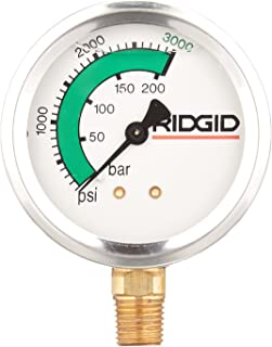 Ridgid 66117 Gauge, Pressure Kj3000
