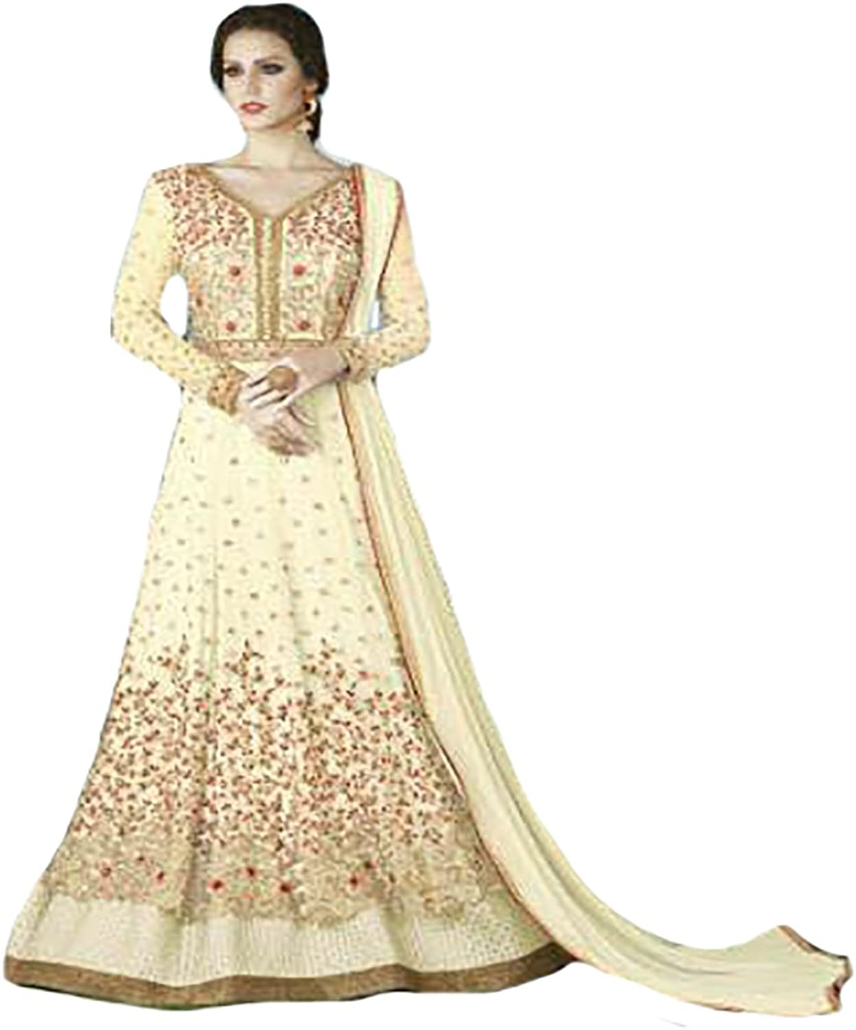 Bollywood Collection Indo western Gown Indian Ceremony wedding Bridal 8766