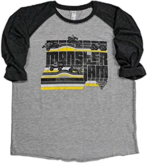 monster jam youth shirts