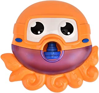 Bath Toys   Cute Baby Bubble Machine,Automatic Bubble Blower Maker with Music for Kids Toddlers Boys Girls, Indoor Outdoor...