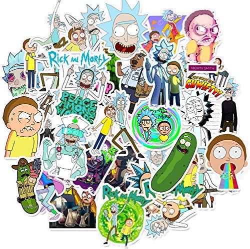 QIANGWEI Stickers voor op reis, skateboard, koffer, gitaar, laptop, telefoon, waterdicht, klassieker