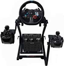 GT Omega Steering Wheel Stand PRO for Logitech G923 G29 G920 Thrustmaster T500 RS Force Feedback Gaming Wheel & TH8A Shift...
