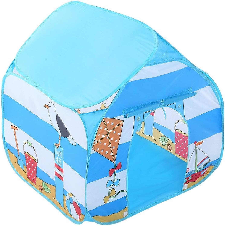 Tenda Giocattolo Spazio for bambini Pop-up Play House giocattolo Tent Simpatico autotone animato Teepee for casetta for bambini tutti'aperto a 4 angoli for ragazzi Playhouse giocattolo per gio  indoor e outdoor