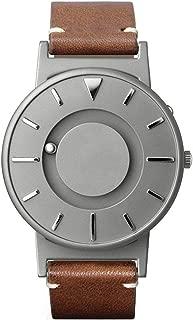 EONE Bradley Titanium Watch Classic Italian Brown Leather