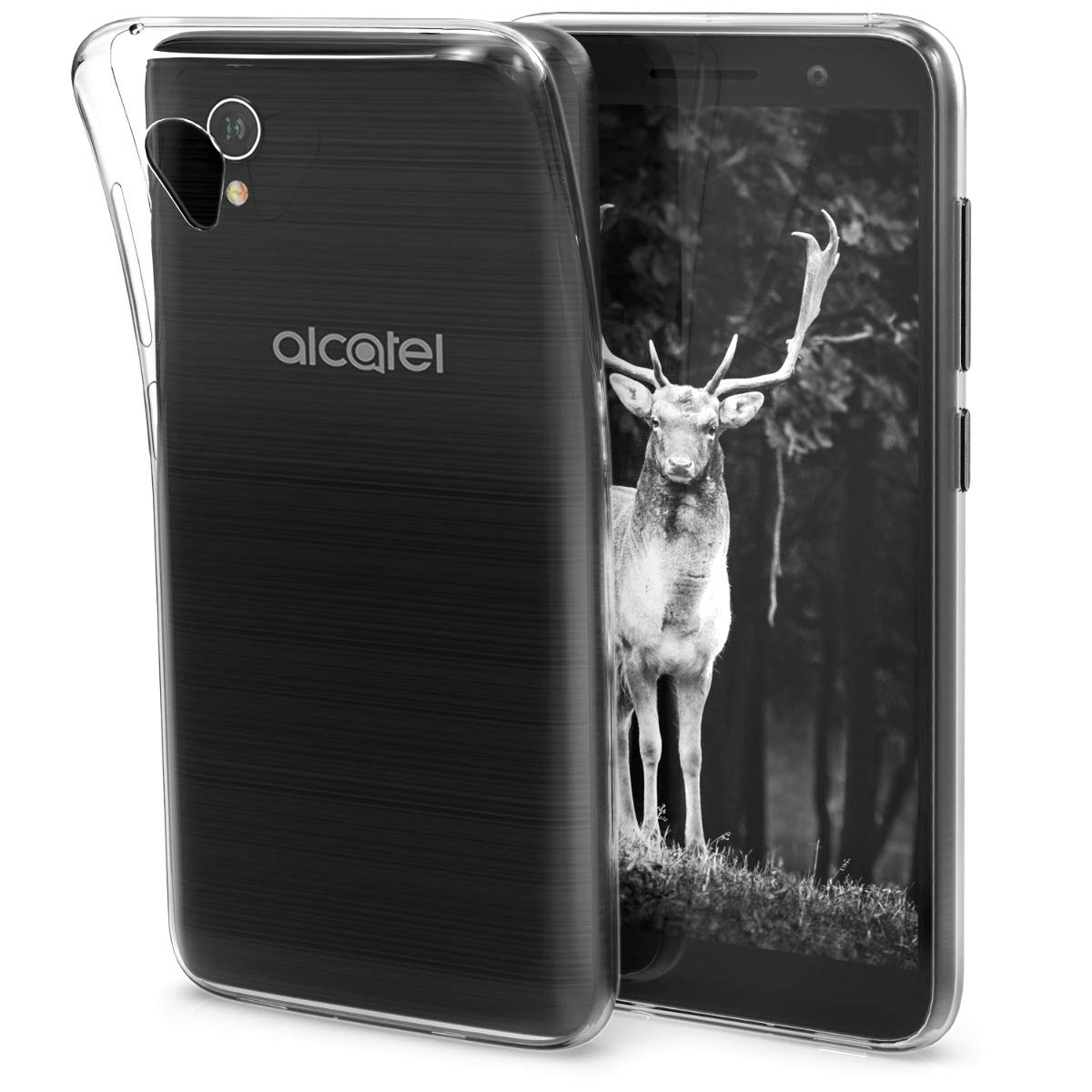 kwmobile Funda Compatible con Alcatel 1 (5.0
