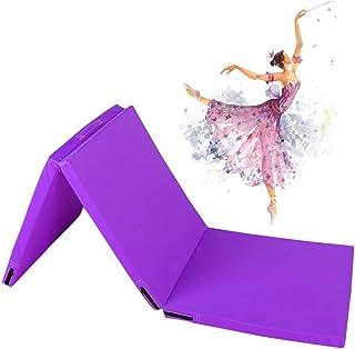 Super Thick Gymnastic Mat, Foldable Sports Mat, Three-Fold Tumbling Fitness Board, Fitness Mat, Non-Slip