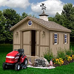 Best Barns Cambridge 10' x 12' Wood Shed Kit - Best She Shed Kits