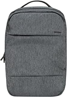 Incase City Collection Backpack, Heather Black/Gunmetal Gray, One Size