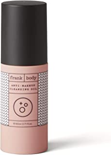 frank body Anti-Makeup Cleansing Oil | Wipe-free Makeup Remover | Made With Coffee, Grapeseed, & BHA Acid | Naturally Remo...
