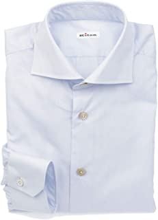 Luxury Fashion Mens 639210 Light Blue Shirt | Season Permanent