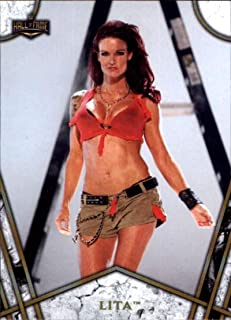 2018 Topps Legends of WWE Women's Division #WD-4 Lita Wrestling Trading Card