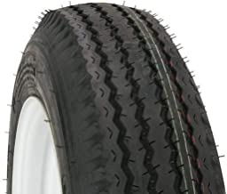Kenda Trailer Tire/Wheel Assembly - 6-Ply Rated/Load Range C - 4.80-12 - 5 Hole Rim 30660