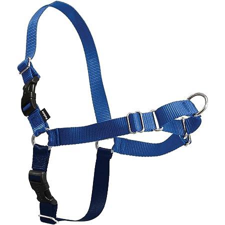 PetSafe Easy Walk Dog Harness, No Pull Dog Harness, Royal Blue/Navy Blue, Small