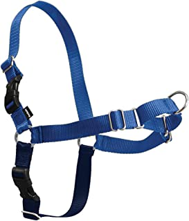 PetSafe Easy Walk Dog Harness, No Pull Dog Harness, Royal Blue/Navy Blue, Large